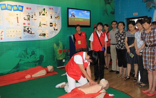 中安特卫志愿者参加第二届中国慈展会活动